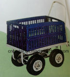 Four Wheels Grocery Shoppers Consumers Folding Trolley Carts