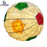 Outdoor Decoration 3D Foot Ball Motif Light