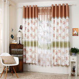 Countryside Style Print Curtain Fashion Curtain (KS-151)
