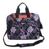 Fashion Colorful Printing Laptop Shoulder Bag for Ladies