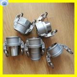 Steel or Brass Material Water Hose Coupling Camlock Coupling