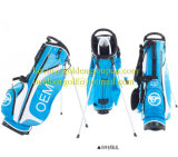 Fashion Blue Latitude Stand Bag Golf Bag with 10 Pockets
