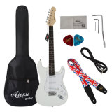 Aiersi Brand Wholesale Price Solid St Electric Guitar for Sale