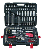 "215PCS 1/4""&3/8""&1/2"" Dr. Socket Set"