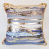 High Quality Good Price Chic 45X45cm Home Gilding Decorative Pillow