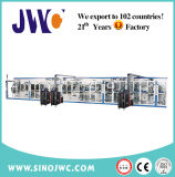 Full-Servo Mushroom Shape Sanitary Napkin Machine (JWC-MGT1200)
