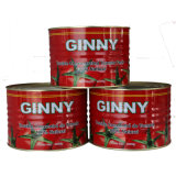 Aseptic Brix 28-30% 70g, 2200g Ginny Canned Tomato Paste
