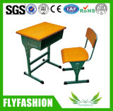 Cheap High Quality Adjustable Single Desk with Metal Legs