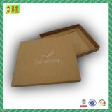Soft Custometic White/Brown Craft Paper Packaging Box