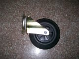 Durable High Temperature Resistant Solid Rubber Wheels for Trash Bin Wheel (3.00-4)