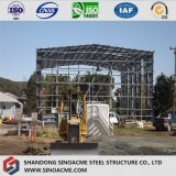 Steel High Rise Workshop with Glass Wool Insulation