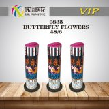 0833-Butterfly Flowers-Outdoor Christmas Fountain 1.4G Fuegos Artificales Pirotecnicos Pyrotechnics Fireworks