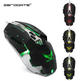 OEM Promo High Quality 7 Button 3200 Dpi LED Optical Wired Gaming Mouse