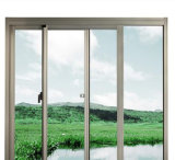 New Design and Cheap Aluminum Double Glass Sliding Window
