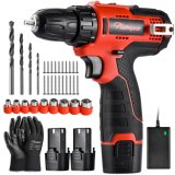 12V Selling Cordless Drill Hardware Set Power Tools Electric Screwdriver