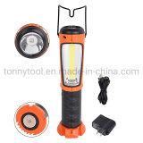Portable LED Work Light, Hanging Hook & Magnetic Flashlight, COB Work Light for Car Repairing, Emergency, Camping