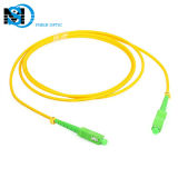 China Factory Simplex Sc / APC to Sc/APC G652D Single Mode Cable Fiber Optic Patch Cord