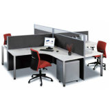 Promotion Price Cheap 4 Person Office Workstation Furniture