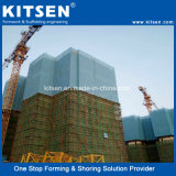 Hydraulic Climbing System with All-Round Protective Safety Panels Meva Mac Systems