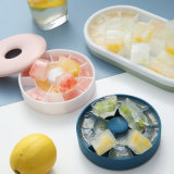 Ice Tray Silicone Ice Cube Mold Household Ice Tray Ice Box Quick Freezer with Lid Freezer Bag Net Red Refrigerator Ideas Silicone Mould