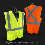 China Wholesale Safety Vest with ANSI107 Standard for Work Safety