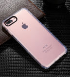 Four-Angle Drop Protection Transparent TPU Soft Cover Case for iPhone X iPhone6 7 8