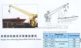 Single Arm Slewing Boat/Raft Davit/Launching Appliance&Crane