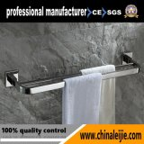 Luxury Stainless Steel Bathroom Double Towel Bar