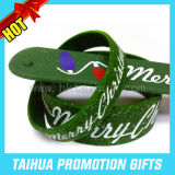 Custom Printed Silicone Slap Bracelet Rubber Wristband (TH-band040)