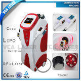 4 in 1 Slimming Machine: Cryolipolysis +Cavitation+RF+Laser Multifunctional Beauty Equipments