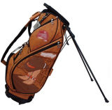 PU Leather Carry Golf Kit Stand Bag