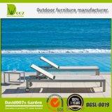 SGS Certificated Outdoor Pool Beach Adjustable Textilene Sun Lounger