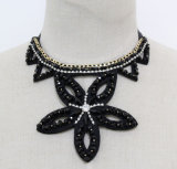Ladies Star Crystal Fashion Handmade Costume Jewelry Necklace