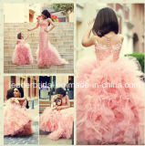 Hot Pink Wedding Flower Girl Dress Girl's Pageant Formal Gown S2015