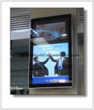 Elevator Wall Mounted Digital LCD Advertising Screen Frame