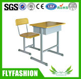 Bottom Price Concise Single Student Desk and Chair (SF-21S)