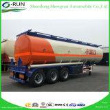 Shengrun Utility 3 Axles Oil Fuel Tanker Semi Truck Trailer