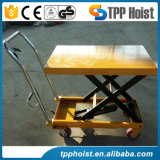 300kg Hand Manual Trolley Hydraulic Shear Design Lift Table Pts300A Price