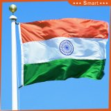 Custom Waterproof and Sunproof India National Flag with Attractive Good Price