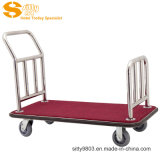 304# Stainless Steel Luggage Cart/Trolley for Hotel Lobby (SITTY 90.2008A)