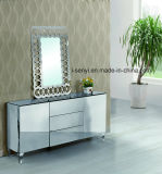 Modern 3 Floors Stainless Steel Sideboard with Drawer