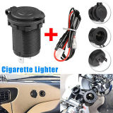 Waterproof 12V Boat Motorcycle Car Cigarette Lighter Socket Power Plug Outlet