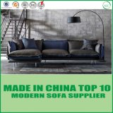 Leisure Feather Leather Corner Sofa for Living Room