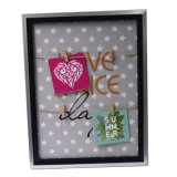 Customized Collage Plastic Clip Picture Frame