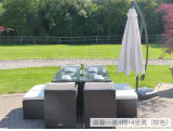 Outdoor Furniture Dining Sets Rattan and Glass
