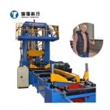 H Beam Steel Making Line Assembly Welding Straightening 3 in 1 Intergrated Machine