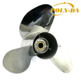 3 Baldes Left 50-130 HP 13 7/8 X19 Boat Prop Matched YAMAHA Stainless Steel Marine Outboard Propeller RC Boat Propeller