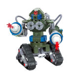 14881004- USA X-2 Future Coming Tank Military Building Block Toys Robot Tank Triangle Chariot Compatible Famous Brand