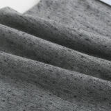 CVC Dobby Heather Grey Cotton Polyester Single Jersey Knitting Fabric for Garment Cloth