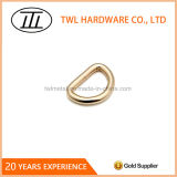 Light Gold High Quality Wire-Formed D Ring for Bag
